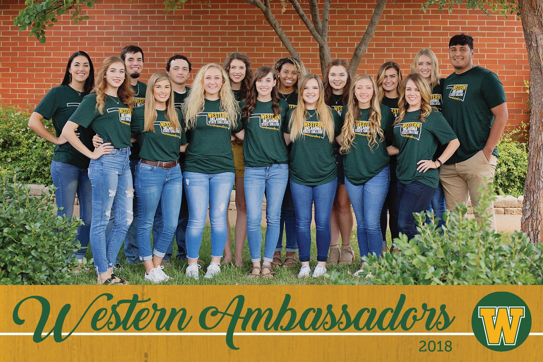 Ambassadors Western Oklahoma State College Altus Ok