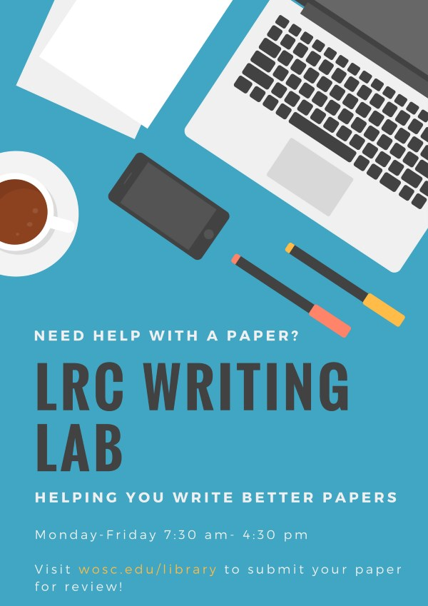 writing lab ad