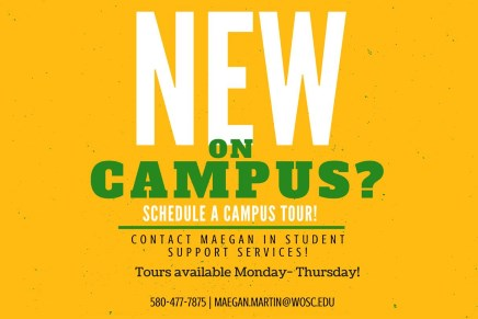 New on Campus?  Schedule a tour