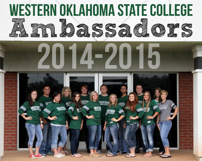 Western Oklahoma State College Altus Ok Ambassadors